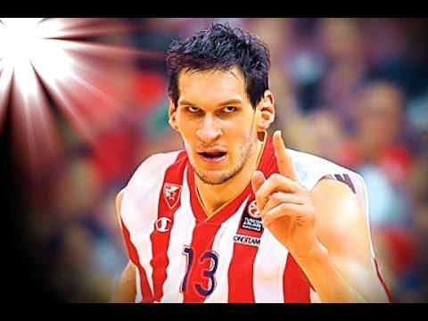 Boban Marjanović  Highlights Euroleague 2014-2015 (Full HD)