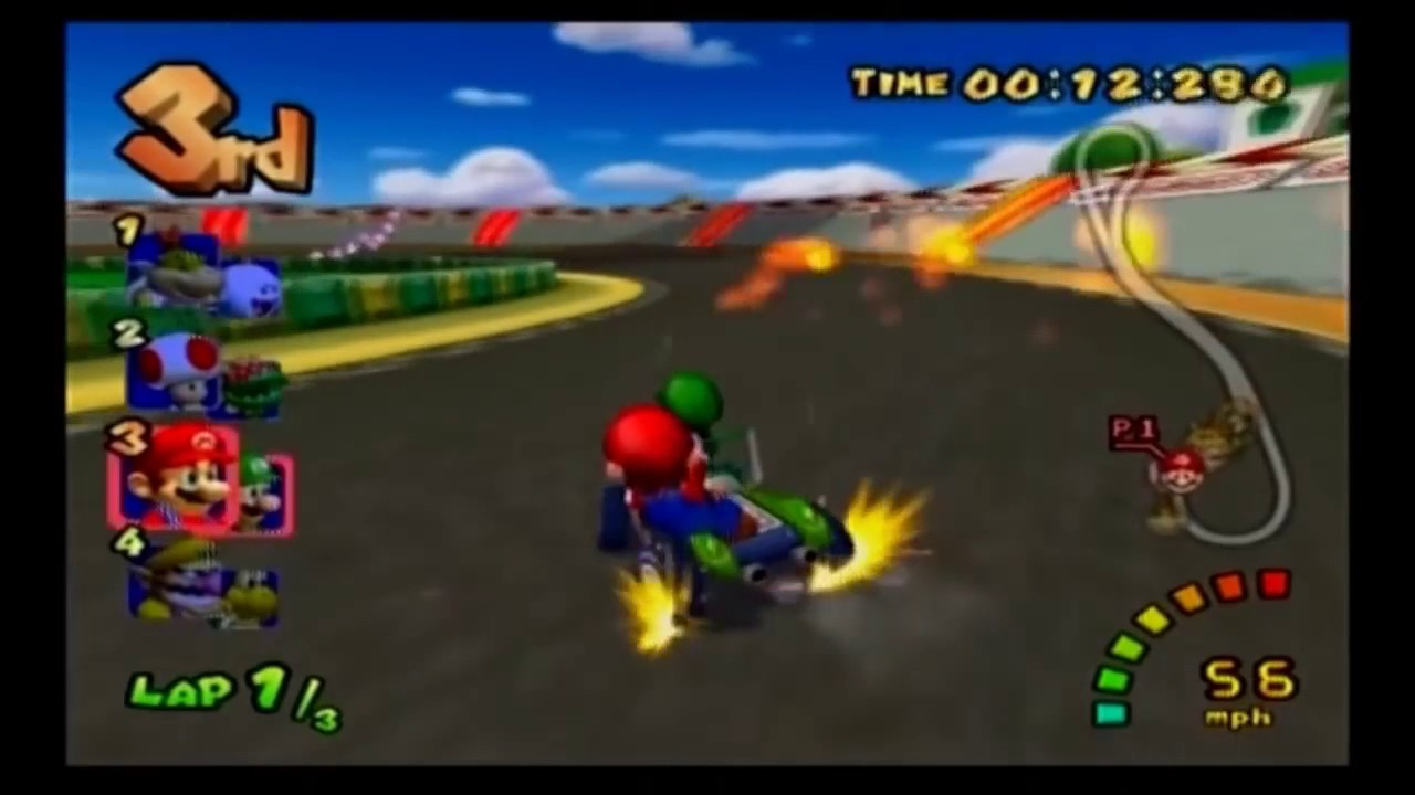 Mario Kart Double Dash All Special Items Hd 720p
