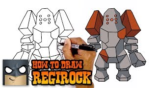 How to Draw Regirock   Pokemon (Art Tutorial)