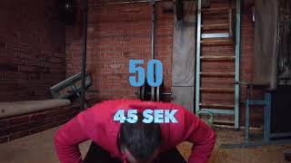 1 min push up test