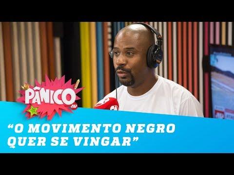 'O movimento negro não quer resolver, quer se vingar', diz Paulo Cruz