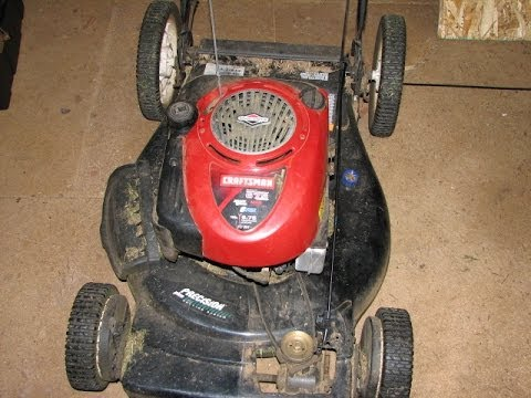 How To Replace Drive Control Cable For Craftsman Mower