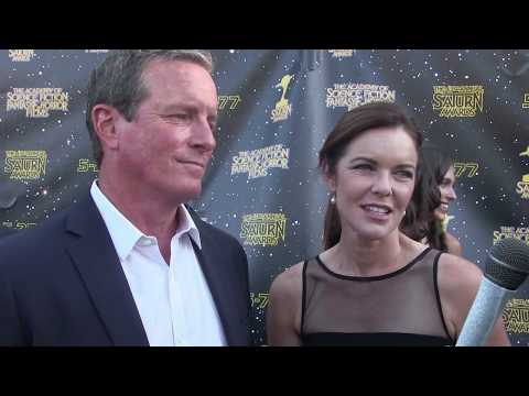 Teen Wolf's Linden Ashby & Susan Walters  at the 2017 Saturn Awards