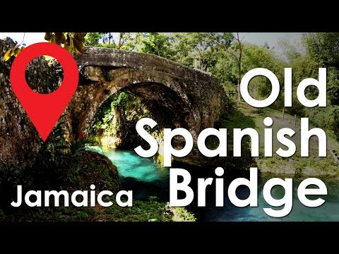 Old Spanish Bridge White River Jamaica Youtube