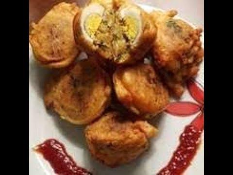 Anda chop recipe /alu chop/onion pakora.. Best evening snacks recipes
