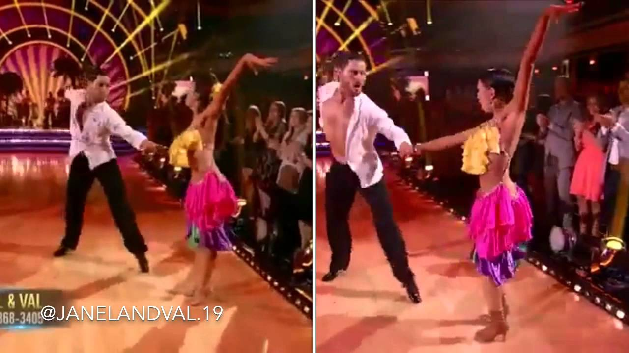 week 8 dwts janel and val dating