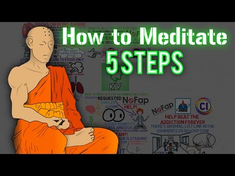 5 Steps: How to Meditate for Beginners (at Home!) ► Meditation for Beginners Guide | How to Meditate