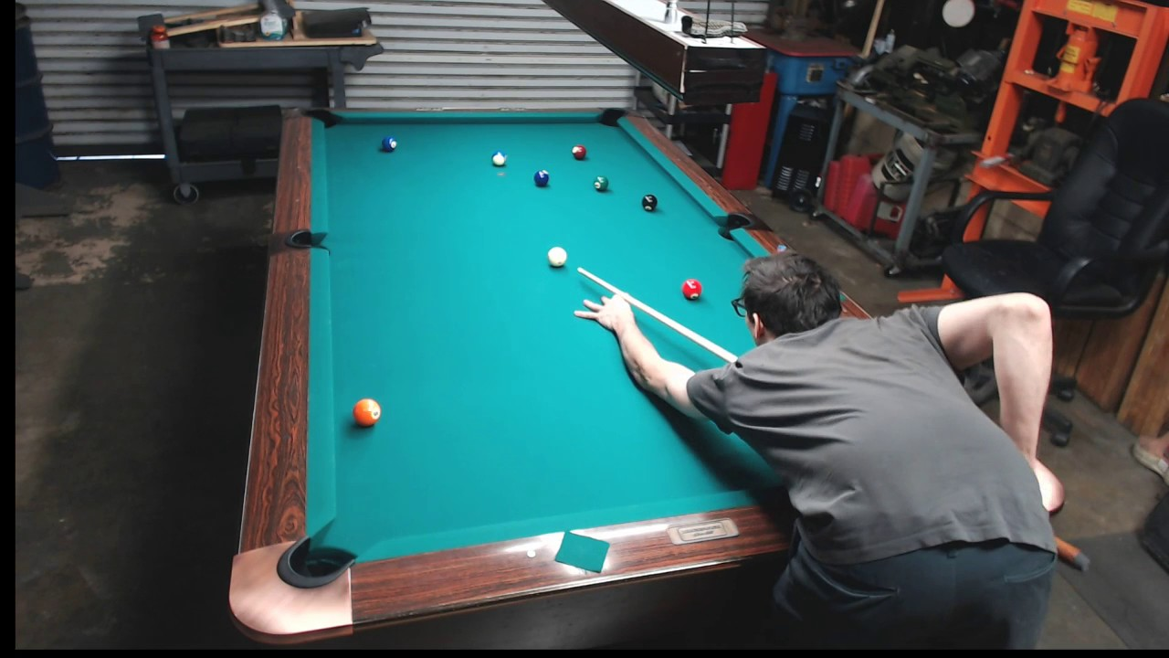 Garage Pool Table YouTube - Pool table in garage