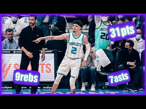 Recap: LaMelo Ball scores 31, Charlotte Hornets come back to ...
