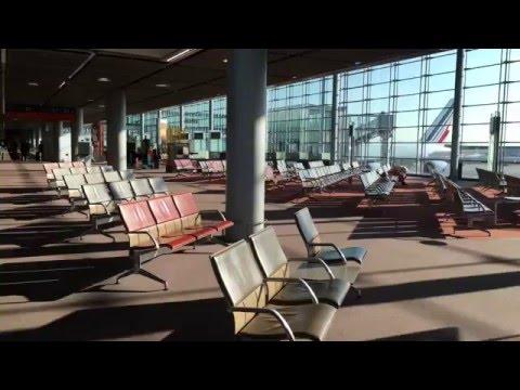 Paris Charles de Gaulle Airport Terminal 2E Tour in 4K