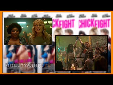 Dulcé Sloan & Fortune Feimster FROM CHICK FIGHT!! -  Hollywood TV