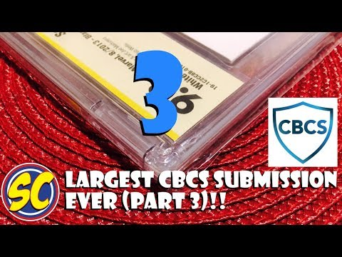 Largest CBCS (not CGC) Submission (part 3): NCBD, Comic Book Speculation and Investing