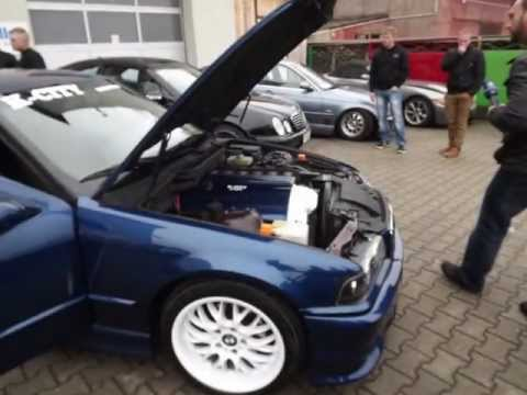 K-CITY-PRODUCTION Umbau BMW e36 316i auf 320 i Wohltätigkeitsaktion für Martin Winger
