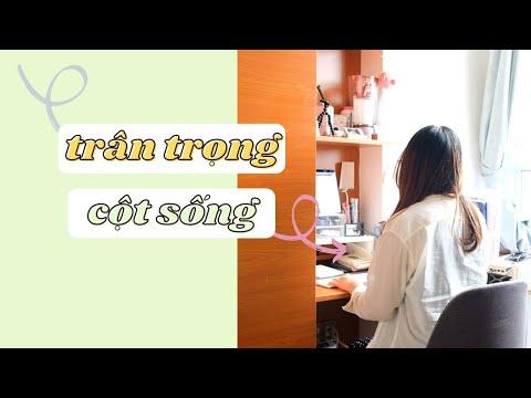 Ngồi Học và Làm Việc Sao Cho Đúng | Tips Bảo Vệ Cột Sống