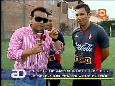 América Noticias: Vea el reto de América Deportes con la selección peruana de fútbol femenino