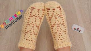 Просто вязаные носки модели женские носки