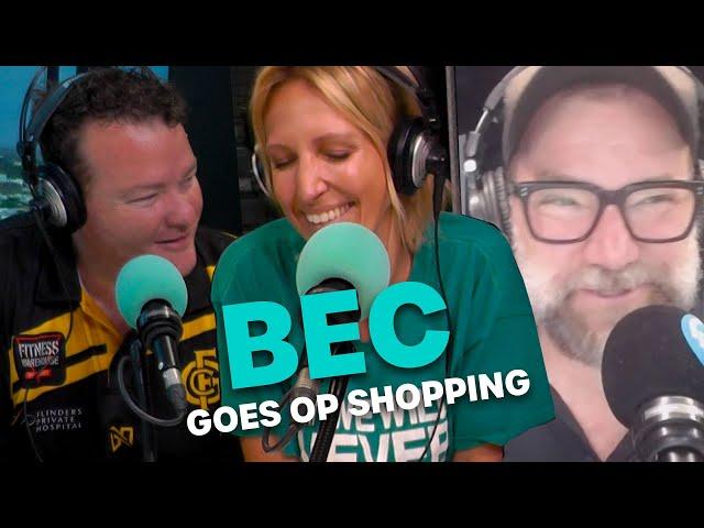 Bec Goes Op Shopping | Bec Cosi & Lehmo