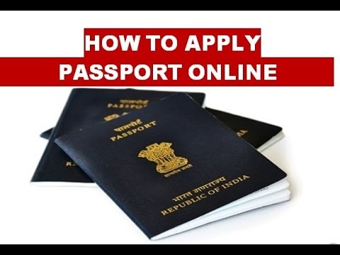 How To Apply For Passport Online In India 2015 In Hindi Youtube