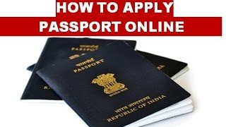 how to apply for passport online in india 2015 (in hindi)