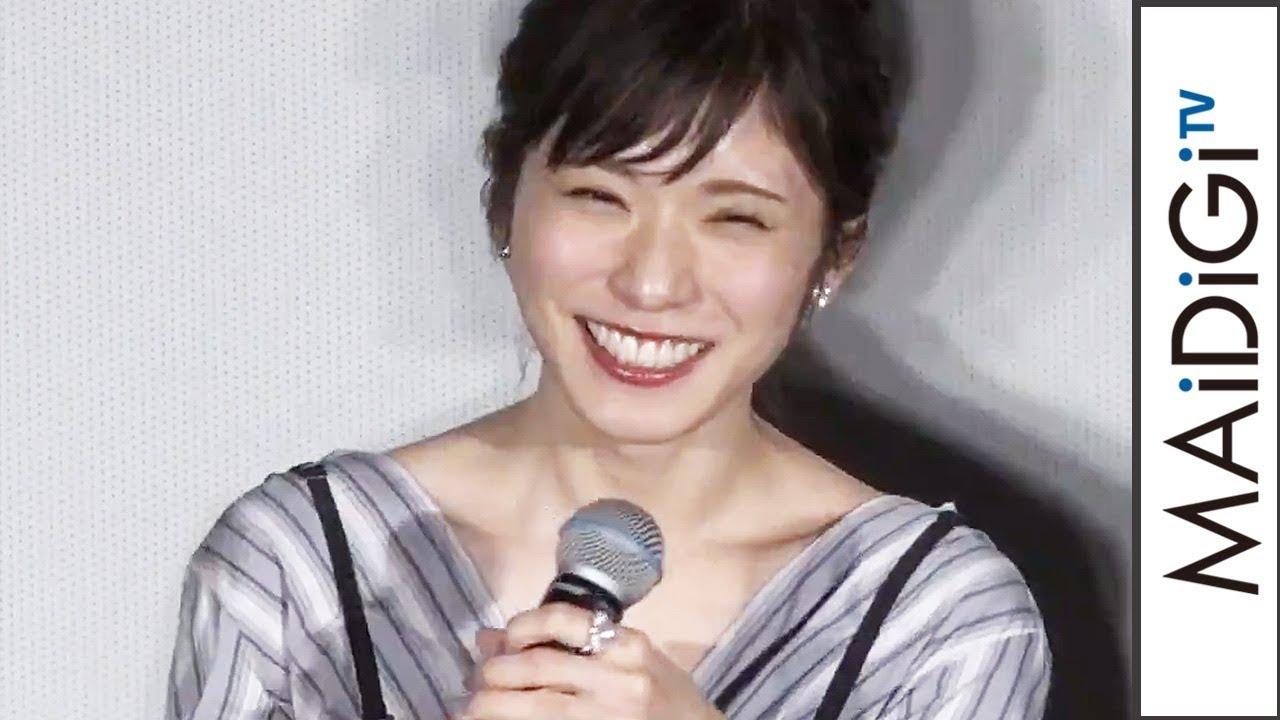 松岡茉優 観客からの 可愛い の声援に笑顔 映画 勝手にふるえてろ 舞台あいさつ 東京国際映画祭 1 Youtube