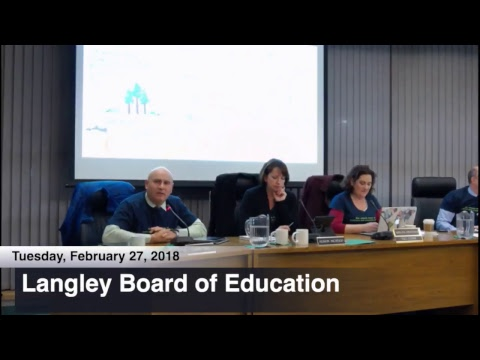 School Board Office - Langley School District #35 Live Stream