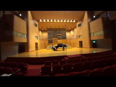 Graduation Recital-CIPRIANO  DE GUZMAN JR., Baritone sings Rossini Arias at EUM St.Cecilia Hall