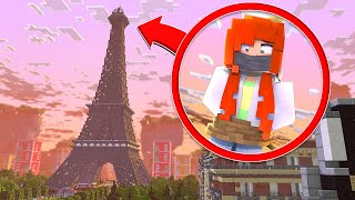 TRAPPED ON THE EIFFEL TOWER !? | Minecraft Spies - Minecraft Roleplay