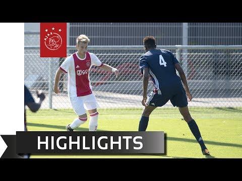 Highlights Jong Olympique Lyon - Ajax