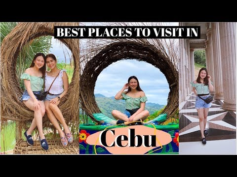BEST PLACES TO VISIT IN CEBU IN A DAY (AFFORDABLE & INSTAGRAMMABLE) | ASHLEY SANDRINE