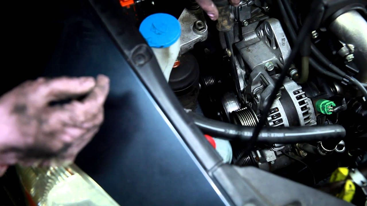 2003-2007 Honda Accord Water pump remove and install - YouTube