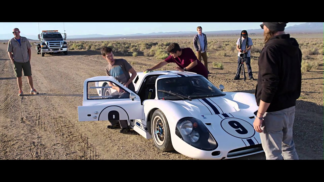 Shooting a rare Ford GT40 Mark IV racing car with Richard Thompson III | Phase One