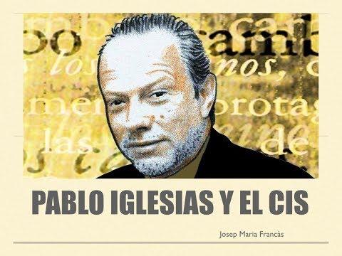 Pablo Iglesias y el CIS