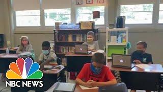 Schools Begin Reopening Amid Coronavirus Restrictions | NBC Nightly News