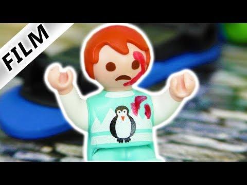 Playmobil Film Deutsch - EMMAS ERSTE WUNDE! MAMA GUTE NACHT GESCHICHTE - Familie Vogel Kinderfilm