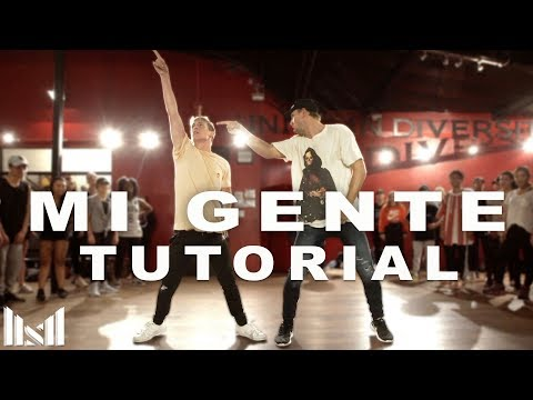 """MI GENTE"" - J Balvin ft Willy William DANCE TUTORIAL 