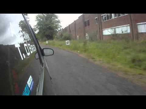Andy Finn Saehan Rallysprint September 2013