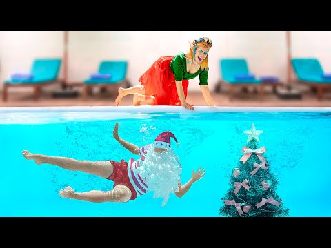 Christmas In Summer / 13 Funny Summer Hacks And Pranks