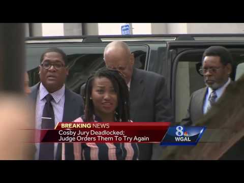 Cosby jury deadlocked - Judge tells them to try again