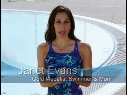 Janet Evans on learning to swim