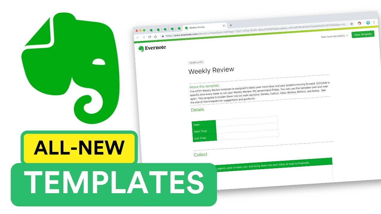 Evernote Templates   The New Evernote Templates Youtube