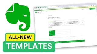 The new Evernote Templates