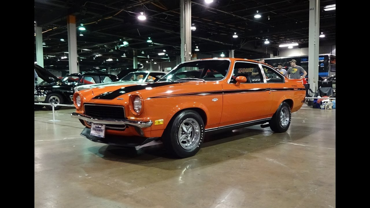 1972 Chevrolet Vega Yenko Stinger in Orange Paint & Engine Sound ...