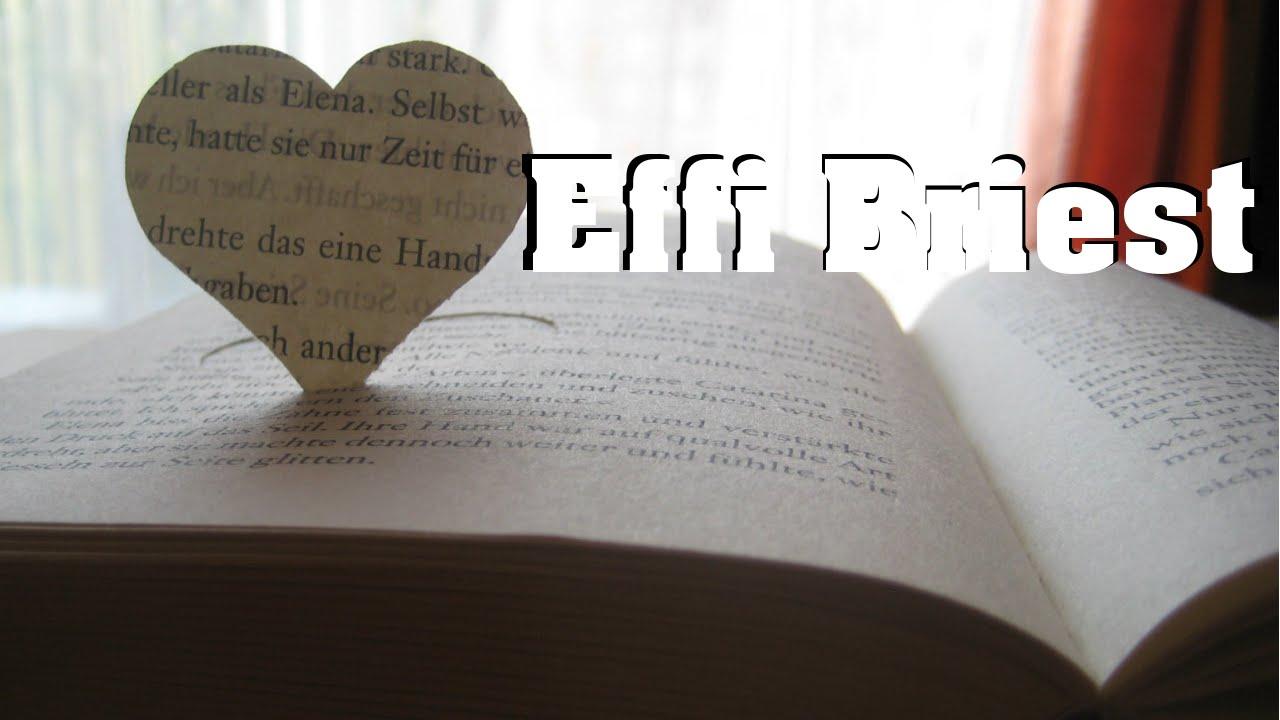 Effi Briest Zusammenfassung Interpretation Youtube