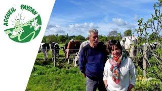 Circuit vélo de ferme en ferme - Etape chez Viviane et Jean Luc Clavier