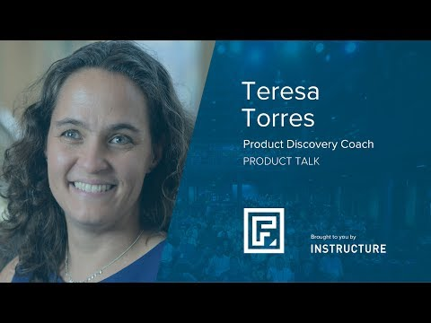 Adopting Continuous Product Discovery Practices by Teresa Torres at Front Salt Lake City 2017