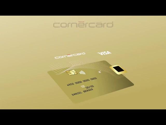 Cornèrcard Biometric Gold Visa 💳 (FR)