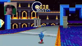 Lets Talk about the Sonic movie and play Sonic Mania!