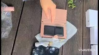 지갑과 한몸이된 핸드폰케이스  휴대폰케이스 끼우고