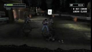 X-Men Origins: Wolverine Gameplay Wii