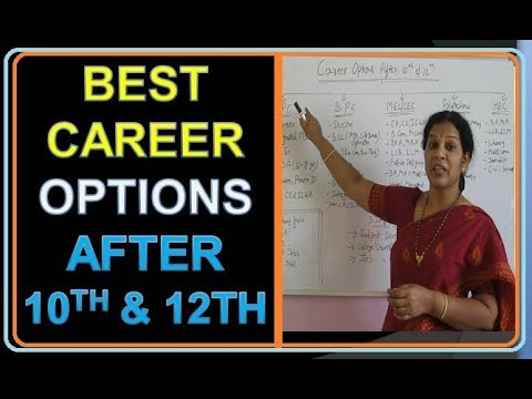 Best career options in india after 12th